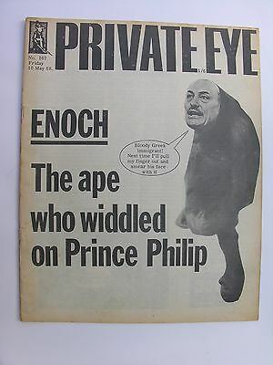 PRIVATE EYE 1968 10 May No 167 Enoch Powell Ralph Steadman Cartoon Prince Philip