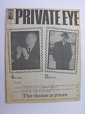 PRIVATE EYE 1968 27 September No 177 Ted Heath Enoch Powell Ralph Steadman