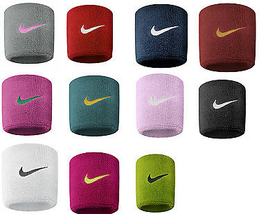 Nike Football Tennis Badminton Sports Swoosh Wristband Sweatbands