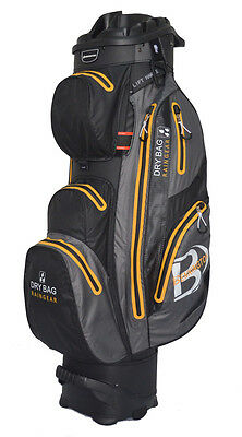 Bennington QO14 Waterproof (schwarz / grau / orange) Cart Bag