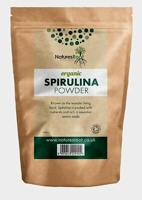 Certified Organic Spirulina Powder - Detox Diet Cleanse Energy Immune Booster