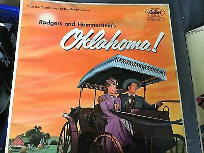 Rodgers And Hammerstein Oklahoma! Classic Vintage Musical Soundtrack Vinyl Lp