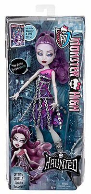 Monster High Haunted Student Getting Ghostly Spectra Vonergeist Doll Dgb30