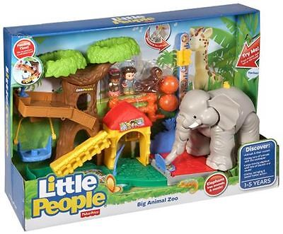 Fisher Price Little People Big Animal Zoo Activities Brand New In Box Chf55