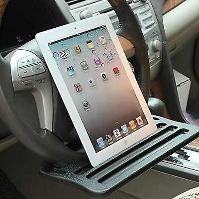 Car Steering Wheel Desk Seat Table Laptop Mount Holder Stand Tray Work Tablet