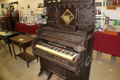 Early Cornish and Sons Washington New Jersey pedal pump organ