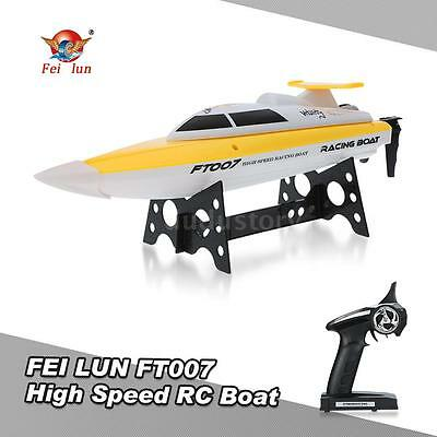 FEI LUN FT007 RC Boat  Barco 2.4G 4CH 20km/h High Speed Radio Control ES R0S5