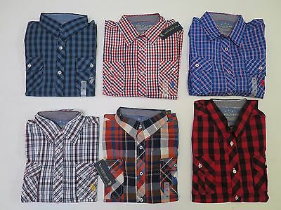 Boys shirt US Polo checked long short sleeve age 2 - 16 years years NEW *BARGAIN