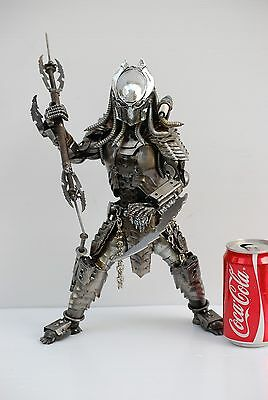 Predator classic (action 2, mask I ) Scrap Metal Sculpture Gift for Anniversary