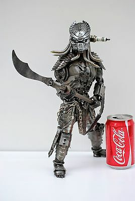 Predator classic (action 4, mask A) Scrap Metal Sculpture Gift for Anniversary