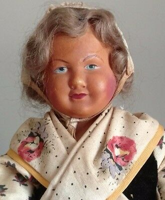 Vintage Petitcollin Celluloid Doll, France Eagle Mark 270
