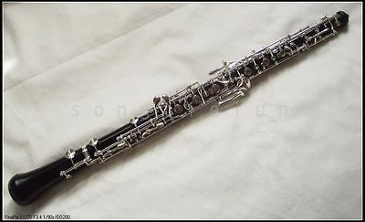 New ebony wood oboe in C key full automatic outfit