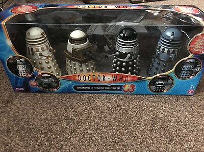 Doctor Who - Remembrance Of The Daleks Collectors Set Mega Rare New
