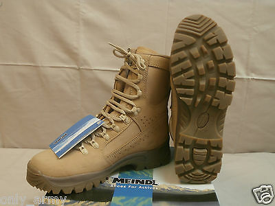British Army Boots Desert Meindl High Quality Comfortable Walking Hiking Work
