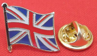 10 PCS x Union Jack Flag Lapel Hat Cap Tie Pin Badge Great Britain Brooch GB UK