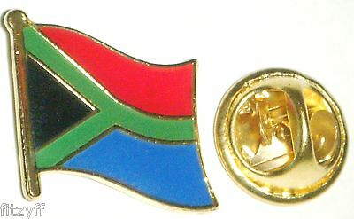 10 PCS x South Africa Lapel Hat Cap Tie Pin Badges African Flag Badge