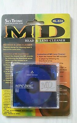 sky tronic mini disc head and lens cleaner  HL-632
