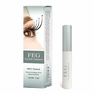 New FEG Eyelash Enhancer Eye Lash quick Growth Serum Liquid 100% ORIGINAL 3ml