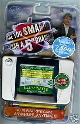New Are you Smarter than a Fifth 5 5th Grader Handheld Game