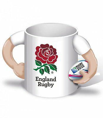 Rugby World Cup 2015 England Player Ceramic Mug