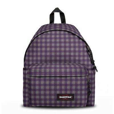 Sac à dos EASTPAK Padded Pak'r 32M Checksange Purple