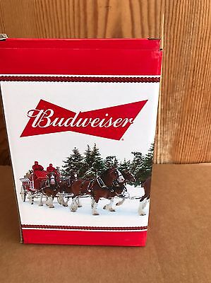 Budweiser Holiday Stein from the Annual Series 2016