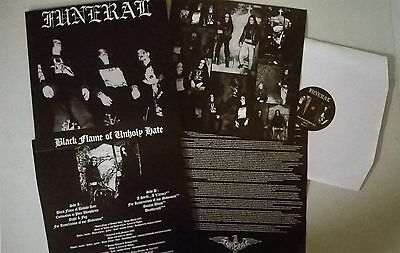 Funeral - Black Flame Of Unholy Hate LP,neu