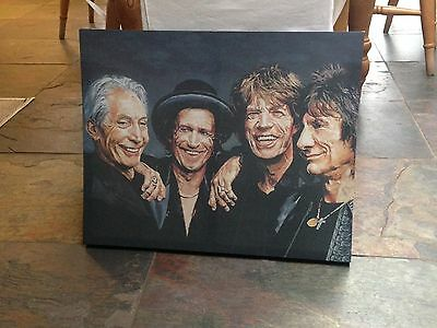 Canverse Print Of Rolling Stones