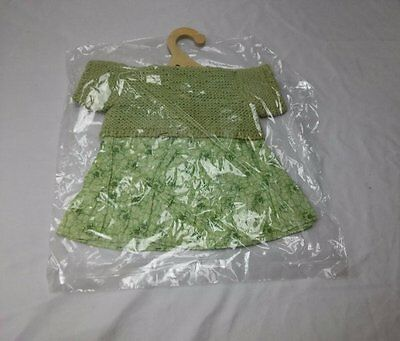 The Original My Doll Green Floral Dress Outfit