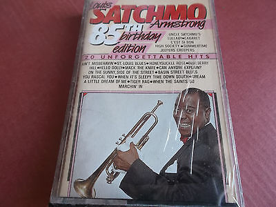 Louis Armstrong: 20 Unforgettable Hits 85Th Birthday Edition: Musikkassette: Neu