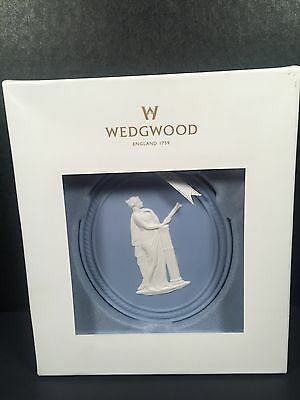 Wedgwood Ornament Christmas Blue Annual 2013 Jasperware
