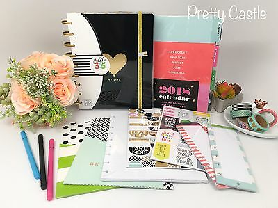 NEW The Happy Planner™ 24 Month Limited Box Kit - Sticker Pen folder Washi Tape