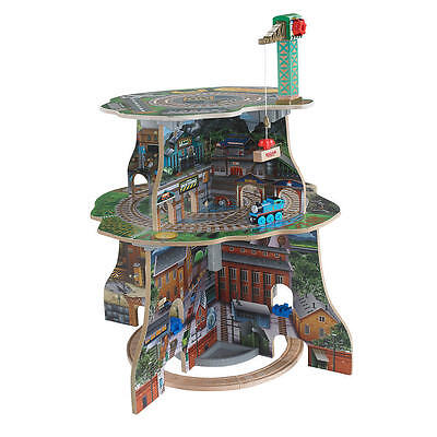 Fisher-Price Thomas Wooden Railway Up and Around Sodor Adventure Tower