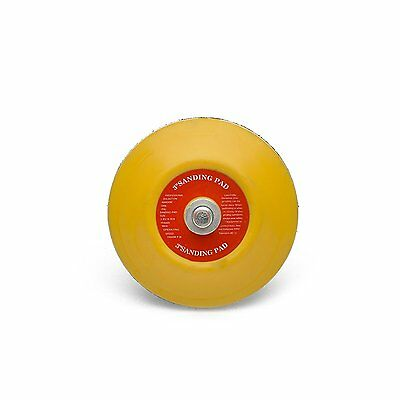 3'' 75mm Dual Action Random Orbital Sanding Pad, Backing Plate  1/4 - 20
