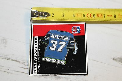 Seattle Seahawks Alexander 37 Jersey - American Football NFL - Pin Badge (c5)