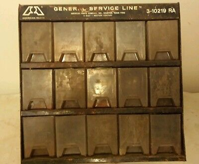 American parts general service line parts bin. Gulf and Western company.