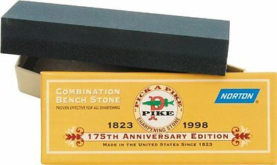 Norton Combination Sharpener Stone 6 X 2 X 1 Inch