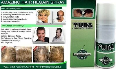 Yuda for Men & Women Extra Strength Hair Regrowth Solution Spray 60ml