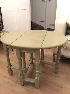 Wooden Retro Shabby Chic Side Table - Great Upcycle Project