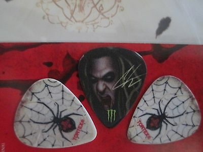 In This Moment guitar pick set (3 picks) Black Widow tour
