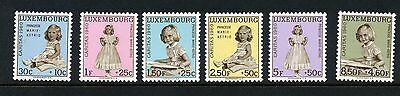 Luxembourg 1960 National Welfare Fund set MNH SG 685-690
