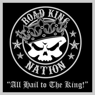 """4"""" Square Road King Patch"""