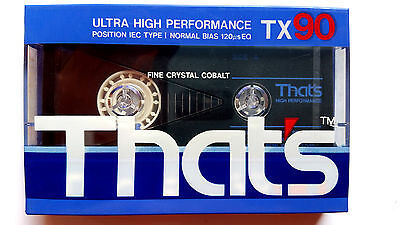 CASSETTE TAPE SEALED - 1x (one) THAT'S TX 90 [1989] TAIYO YUDEN - made in Japan