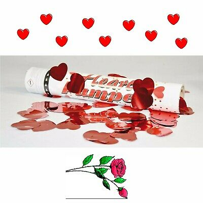 Confetti-Party Shooter Heart, 30 cm