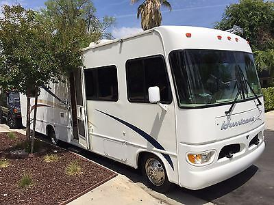 2001 Hurricane 29 D by Thor RV A class with Low Mileage