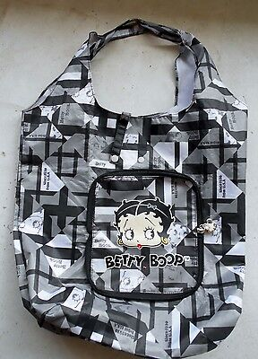 Betty Boop Large Black & White Tote Bag Shoulder Bag by King Features 2011
