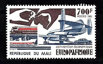 Mali Sc# 440 Europafrique Economic Convention 1981  Mnh