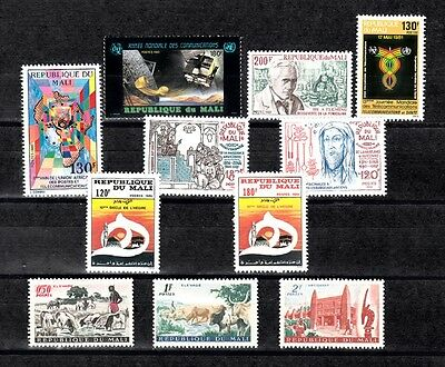 Mali Lot# 62316-B All Mnh