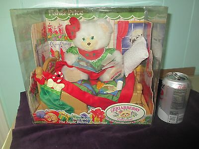 FISHER PRICE 1999 BRIARBERRY Collection MERRYBERRY Night Before CHRISTMAS Bear