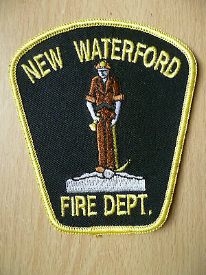 Patches: NEW WATERFORD FIRE DEPT PATCH (New, approx.4x3.8)